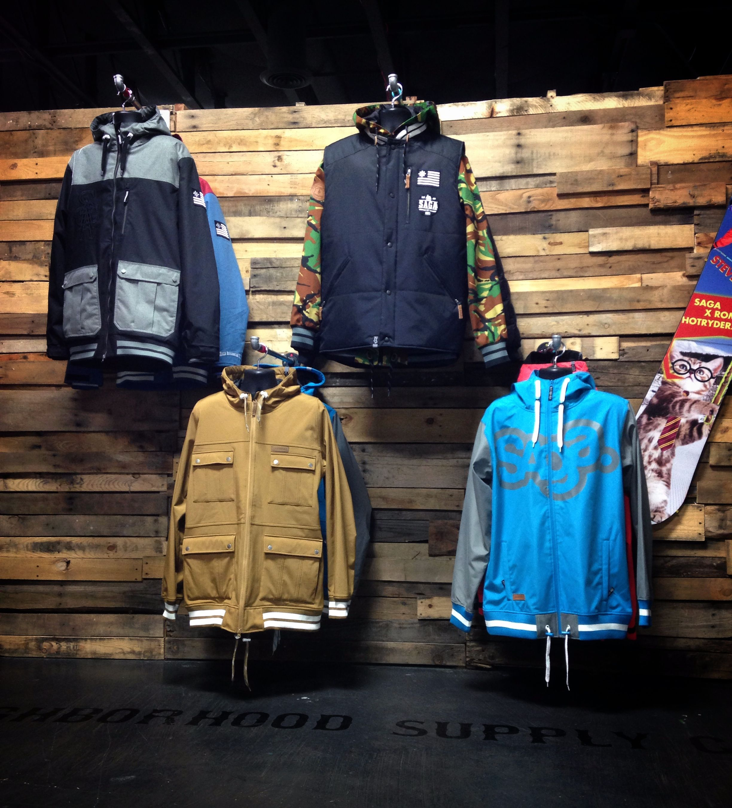 Fall Winter 2013 Showroom From Saga Outerwear Sagaouterwear Com Saga Outerwear Osprey Backpack Bags [ 2701 x 2448 Pixel ]