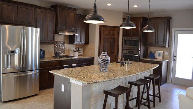 Modern Kitchen Design By D.R. Horton In San Antonio, TX.