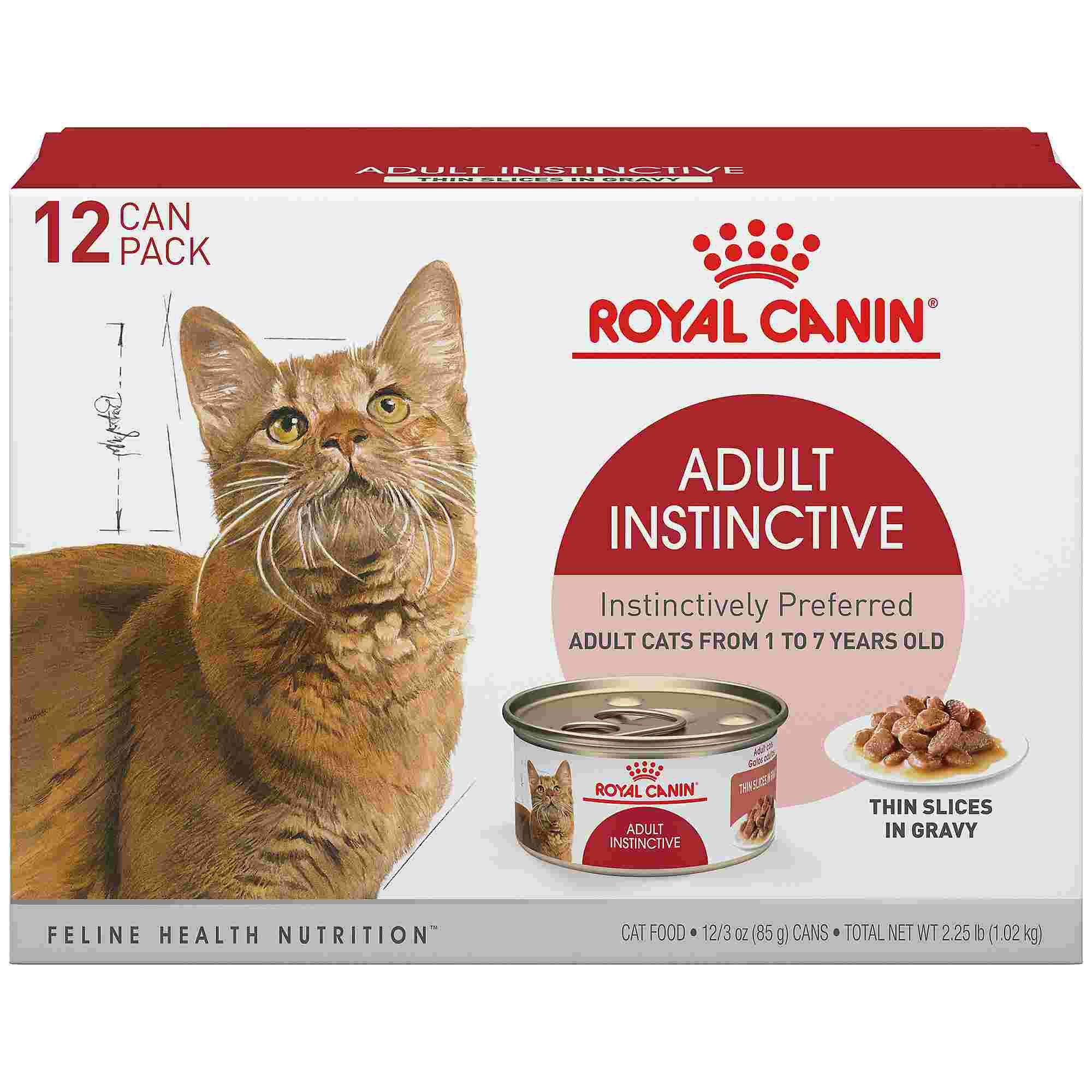 Royal Canin Adult Instinctive Thin Slices in Gravy Wet Cat