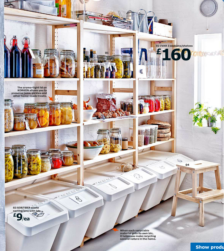 smart recycling rubbish solutions ikea kitchen storage ikea pantry home on kitchen organization recycling id=42626