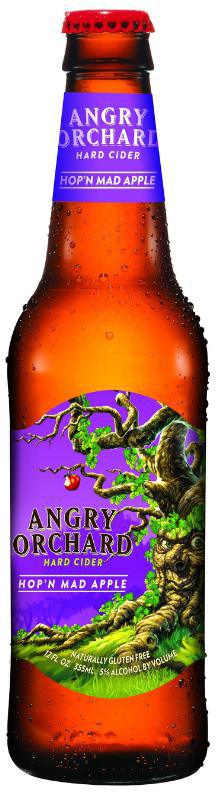 Angry Orchard Launches Newest Hard Cider: Hop'n Mad Apple