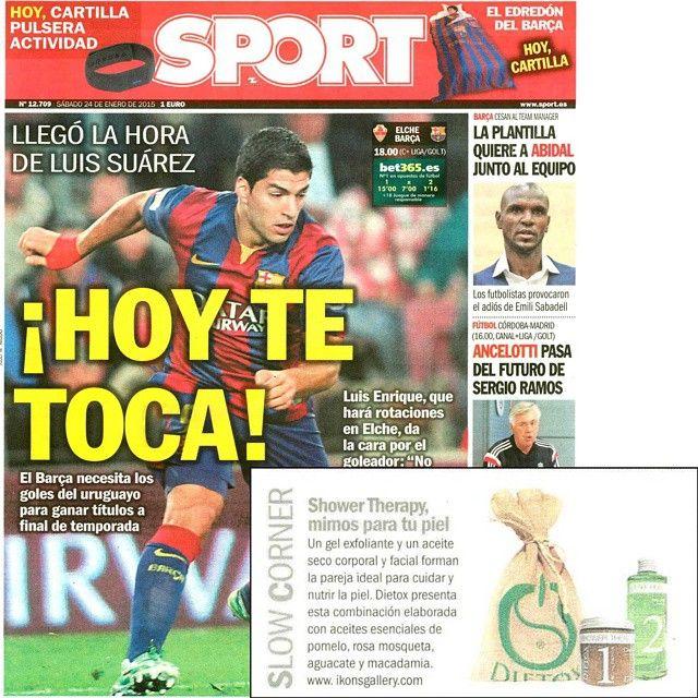¡Mimos para tu piel con Shower Therapy! by Diario Sport #detox #cuidados #piel #dietox
