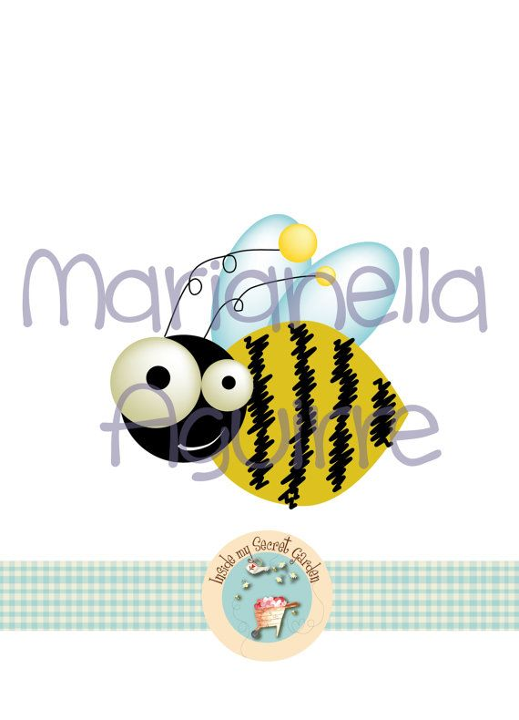 BUSY BEE. cross stitch pattern by Insidemysecretgarden on Etsy