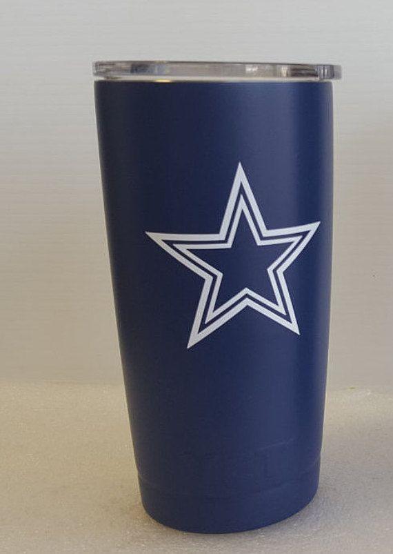 Yeti Fathers Day Gift Dallas Cowboys 20oz Yeti Rambler