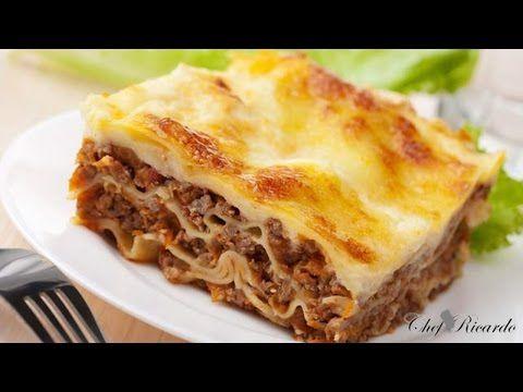 BuzzFeed Food - Molten Lasagna by Chef Thiago Silva - YouTube