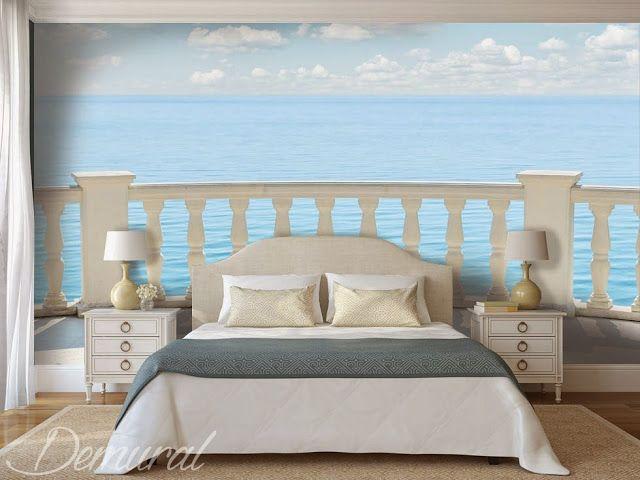 schlafzimmer natur meer fototapete | Meer Strand Utensilien ...