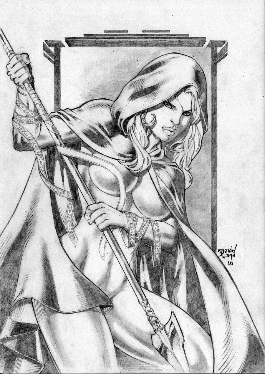 Magdalena by David Lima