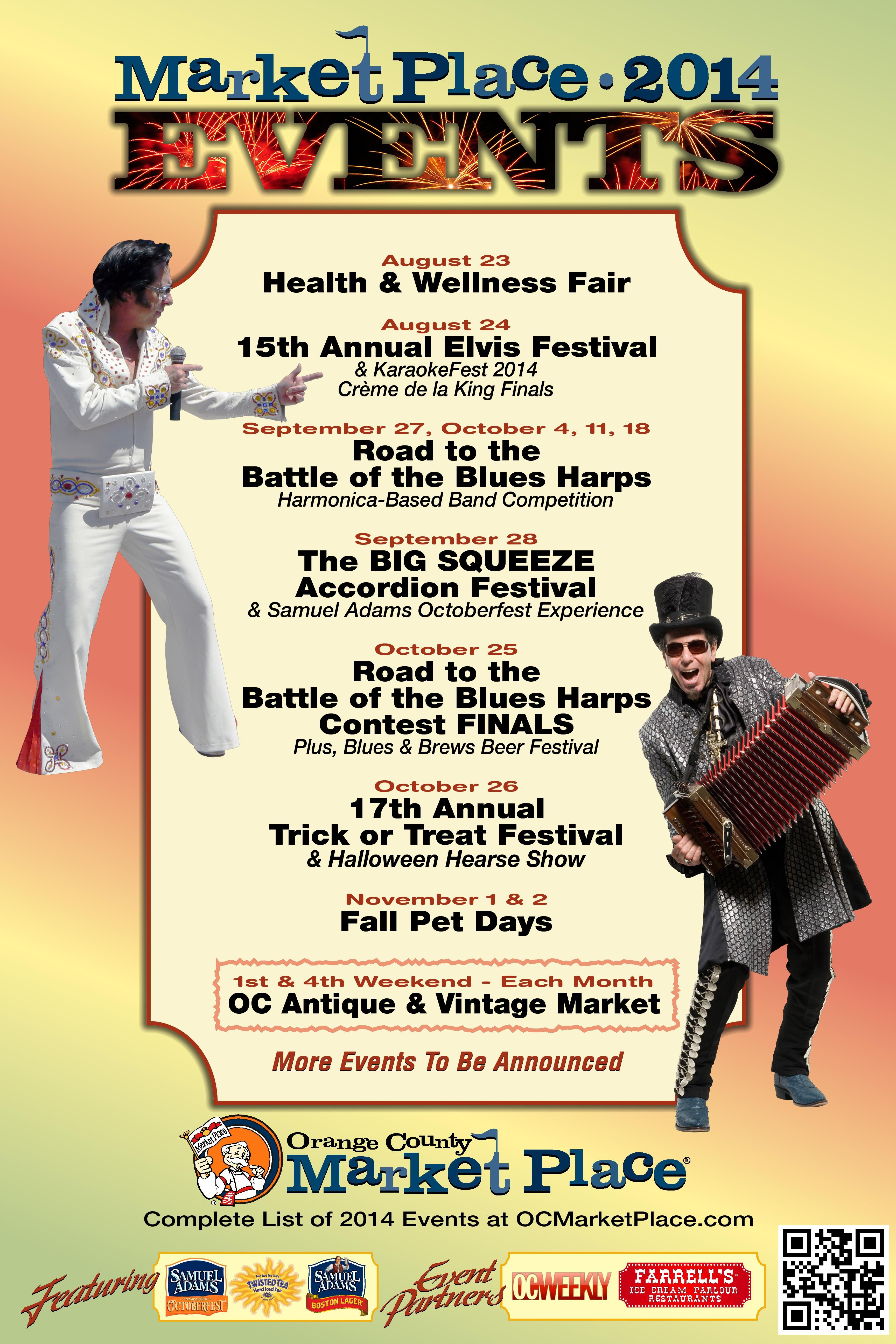 What's coming up at the OC Market Place! Orange county