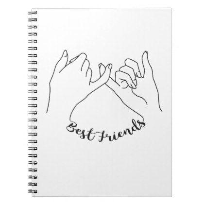 Best Friends Notebook Zazzle Com Friend Scrapbook Best Friend