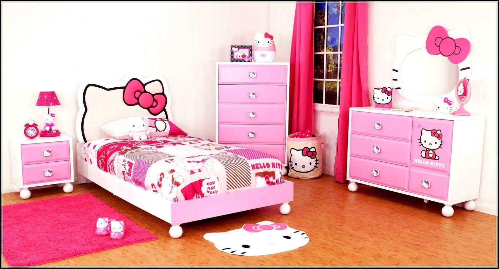Kamar Tidur Minimalis Anak Perempuan  Hello kitty bed, Kamar