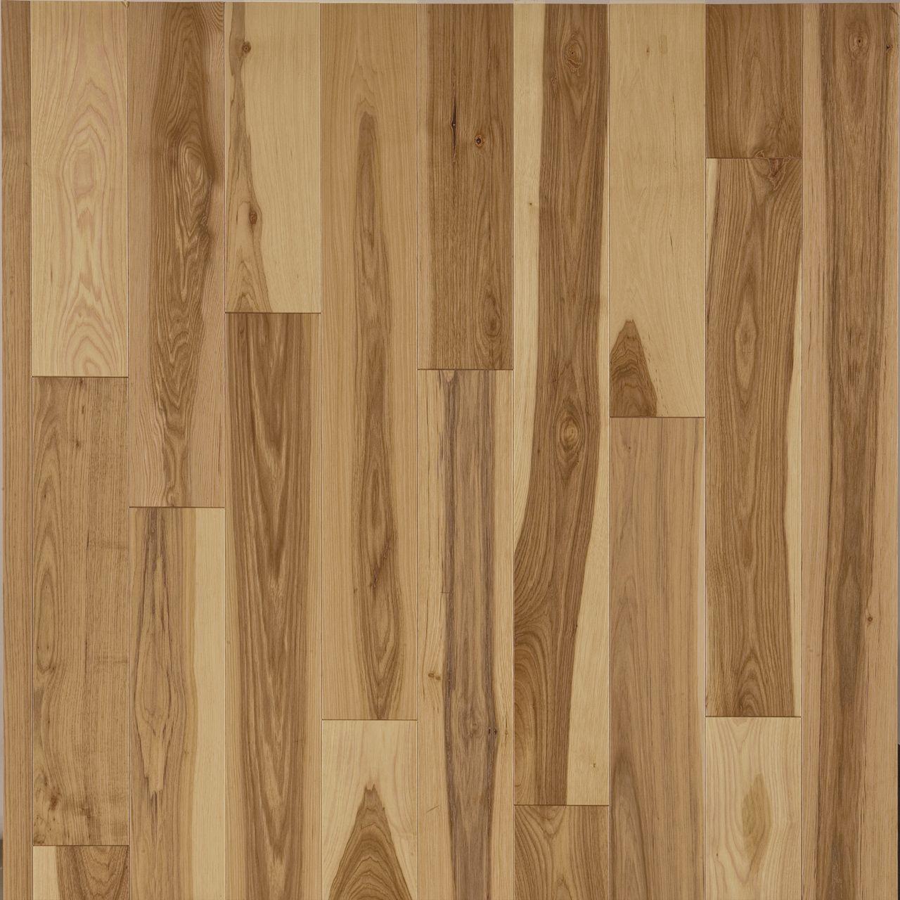 hickory, natural hardwood flooring Preverco Deco