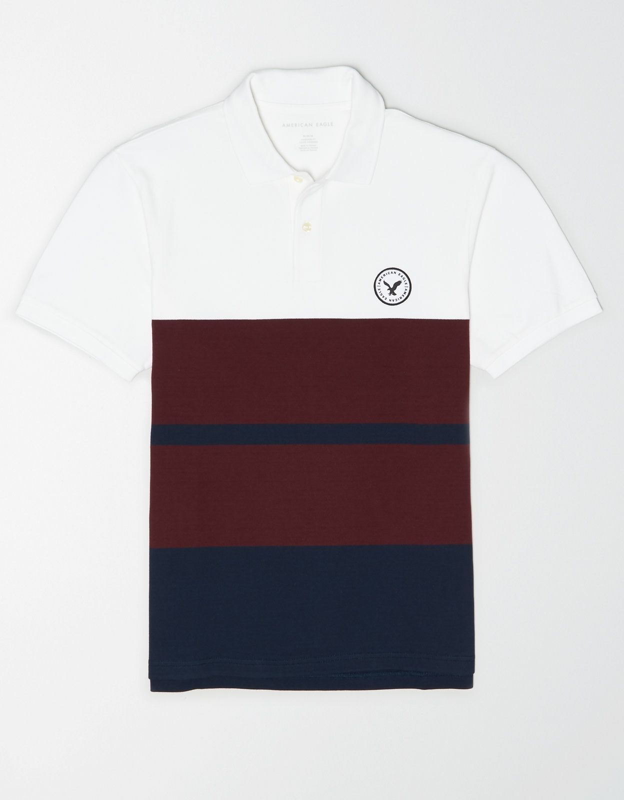 Ae Color Block Patch Polo Shirt Mens Outfitters Shirts Mens Tops