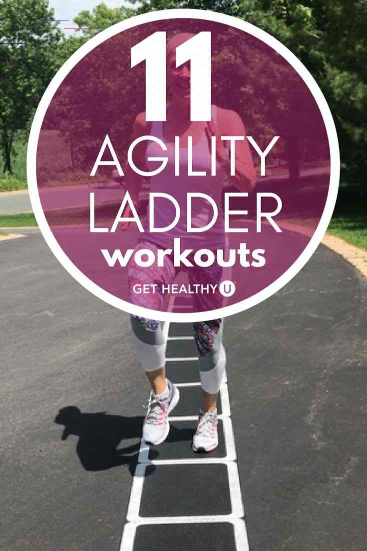 11 Agility Ladder Drills That Burn Serious Calories - # ...