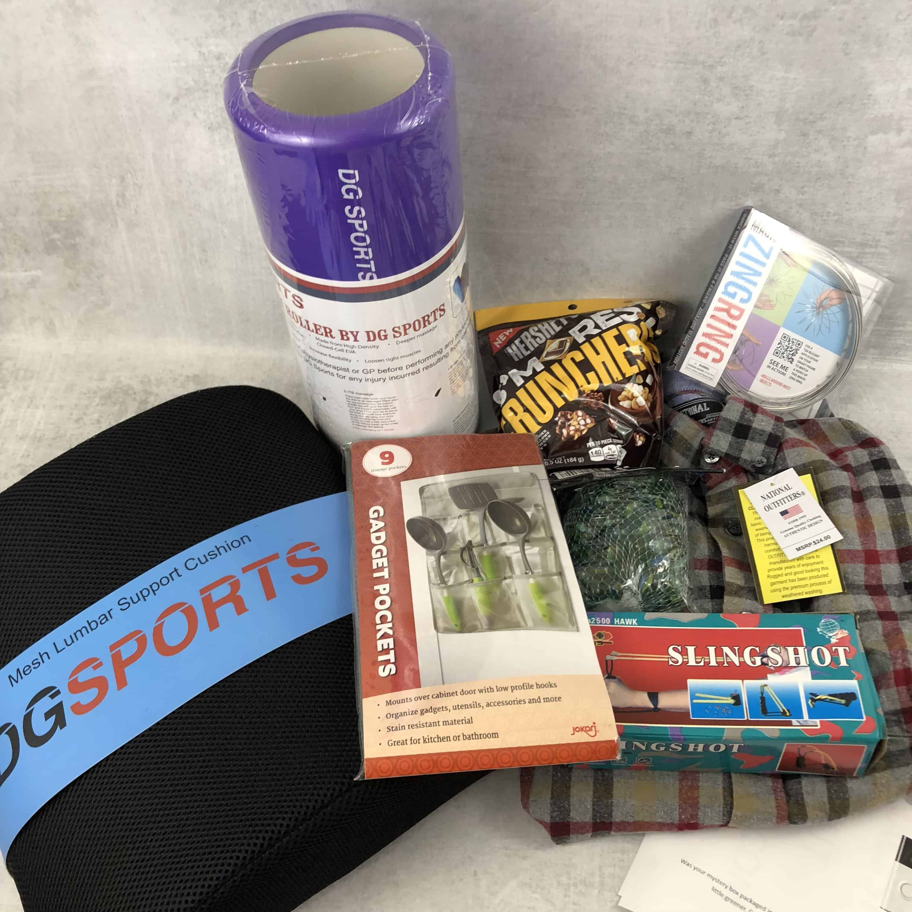 Monthly Mystery Box of Awesome November 2018 Subscription