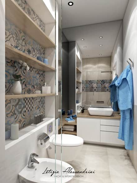 Bagno moderno: Idee & Ispirazioni   Shower cabin, Interiors and Toilet