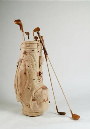 Wooden Art Golf Clubs By Livio De Marchi Made In Wood In