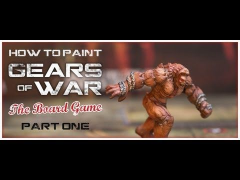 How To Paint Gears Of War The Board Game Miniatures Part 1