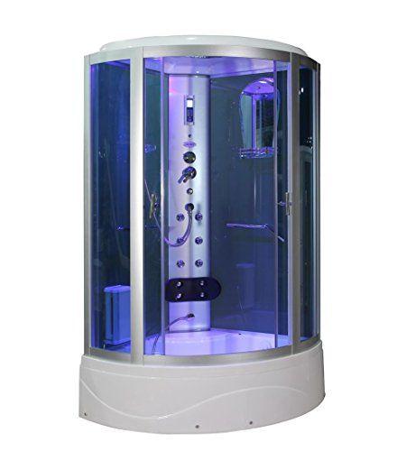 Sliding Door Steam Shower Enclosure Unit Size 86 2 H X 36 W X