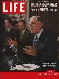 General Charles De Gaulle June 1958 Gaulle 5eme Republique Faits Historiques