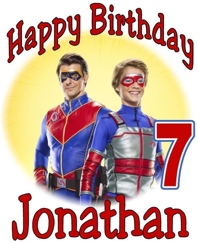Details About Henry Danger Birthday T Shirt Personalized Any Name