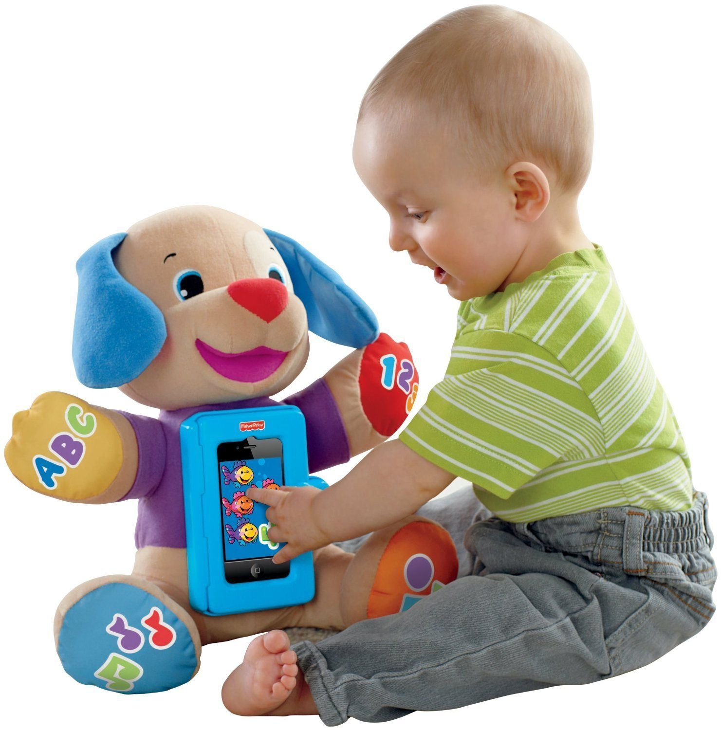 Fisher Price Laugh and Learn Apptivity Puppy 75 songs tunes