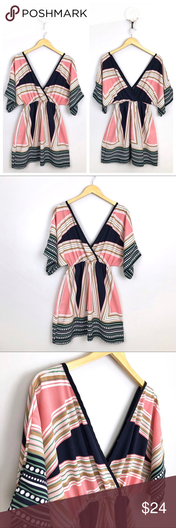 NWT Sage Kimono Dress From Apricot Lane Boutique New with