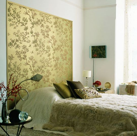 As I like a low or platform bed, headboards have usually been some ...