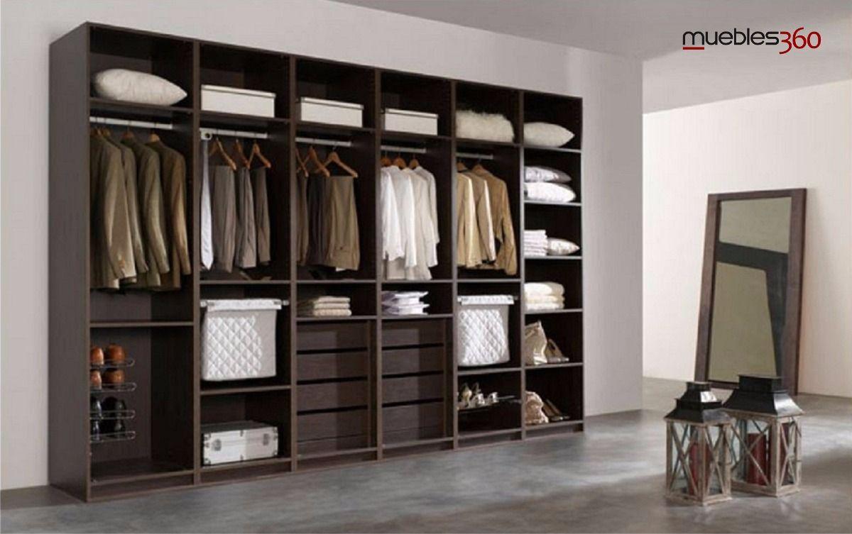 Closet 360 modular moderno m dulo 1 vis tenos bs for Modulares modernos