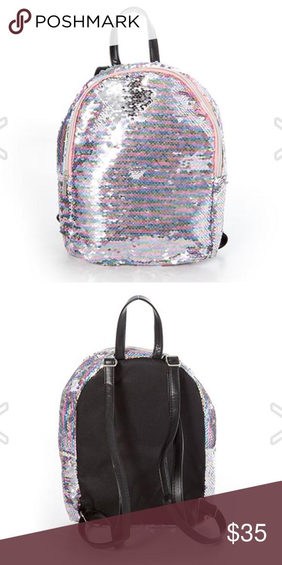 029afb7e1d Capelli Girls ReversibleSequin Mini Backpack NWT Capelli. Dimensions   11.5