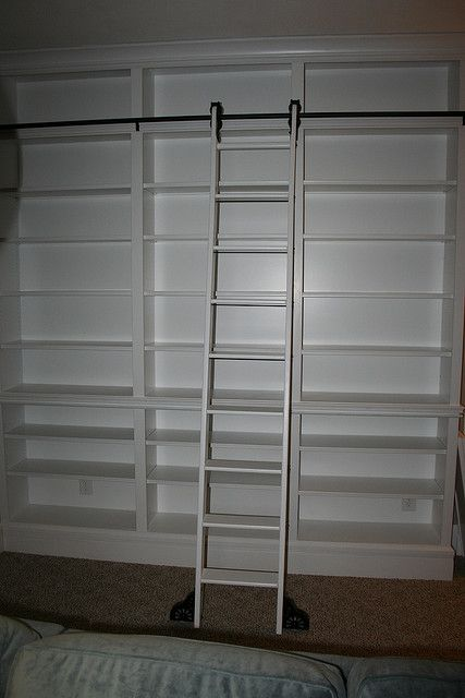 Handmade Bookcase With Ladder Cupboard Mud Rooms And Room