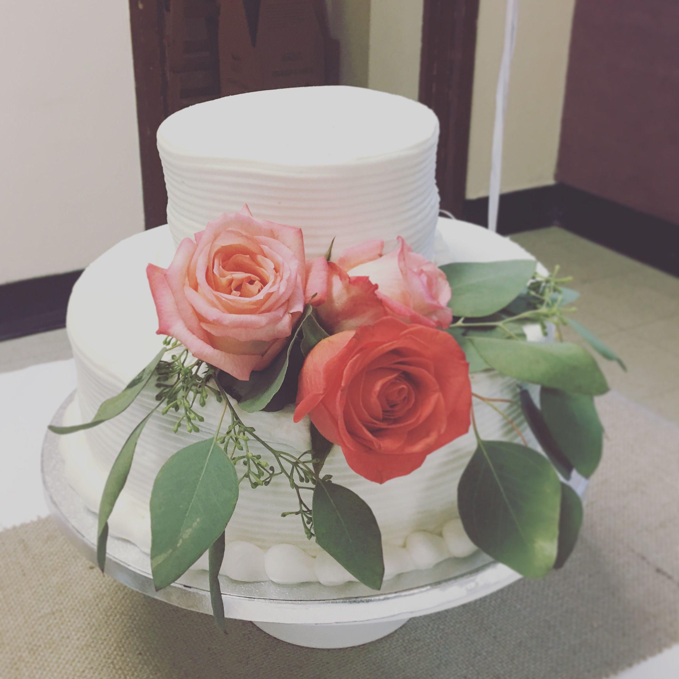 35th Wedding Anniversary Cake Coral 35th Wedding Anniversary Wedding Anniversary Cake Anniversary Cake