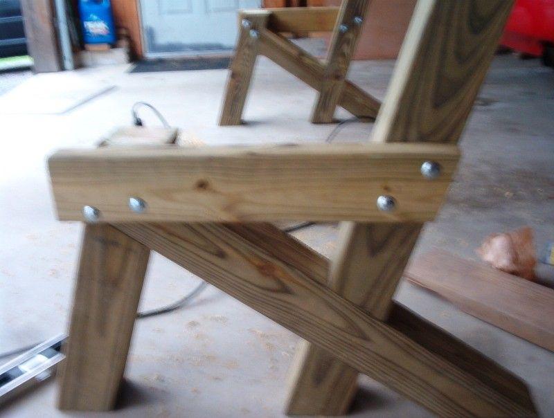 garden bench supportplan