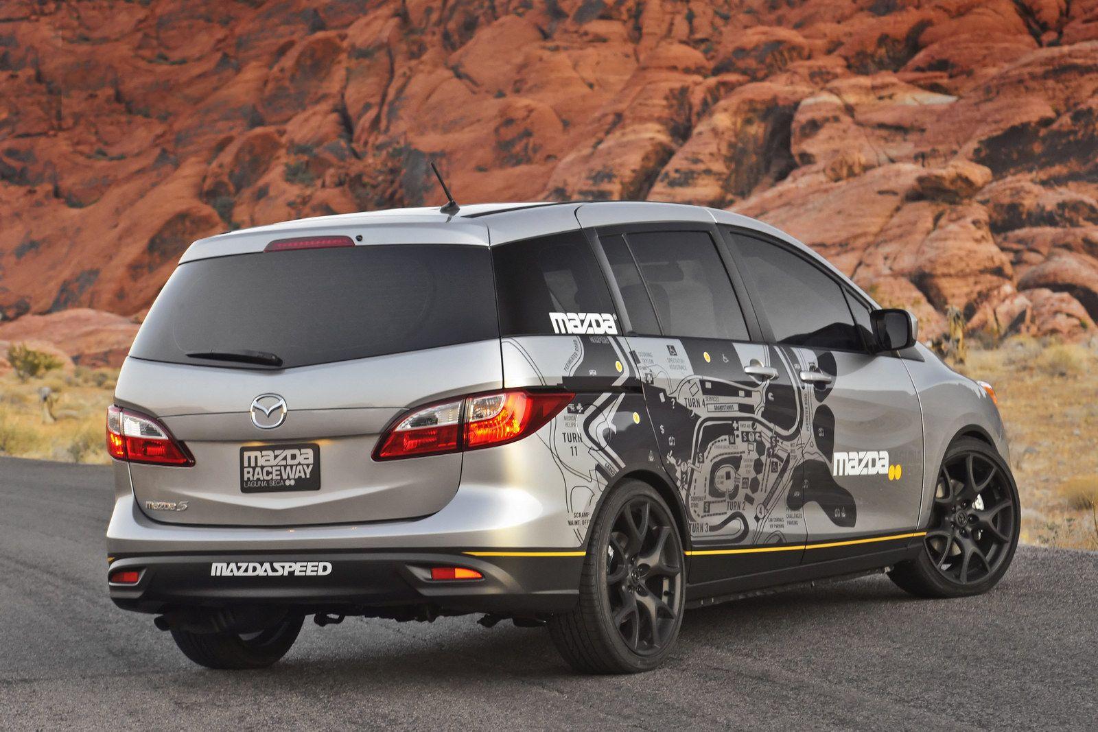2011 Sema Show Debut For Mazda5 Laguna Seca Support Vehicle