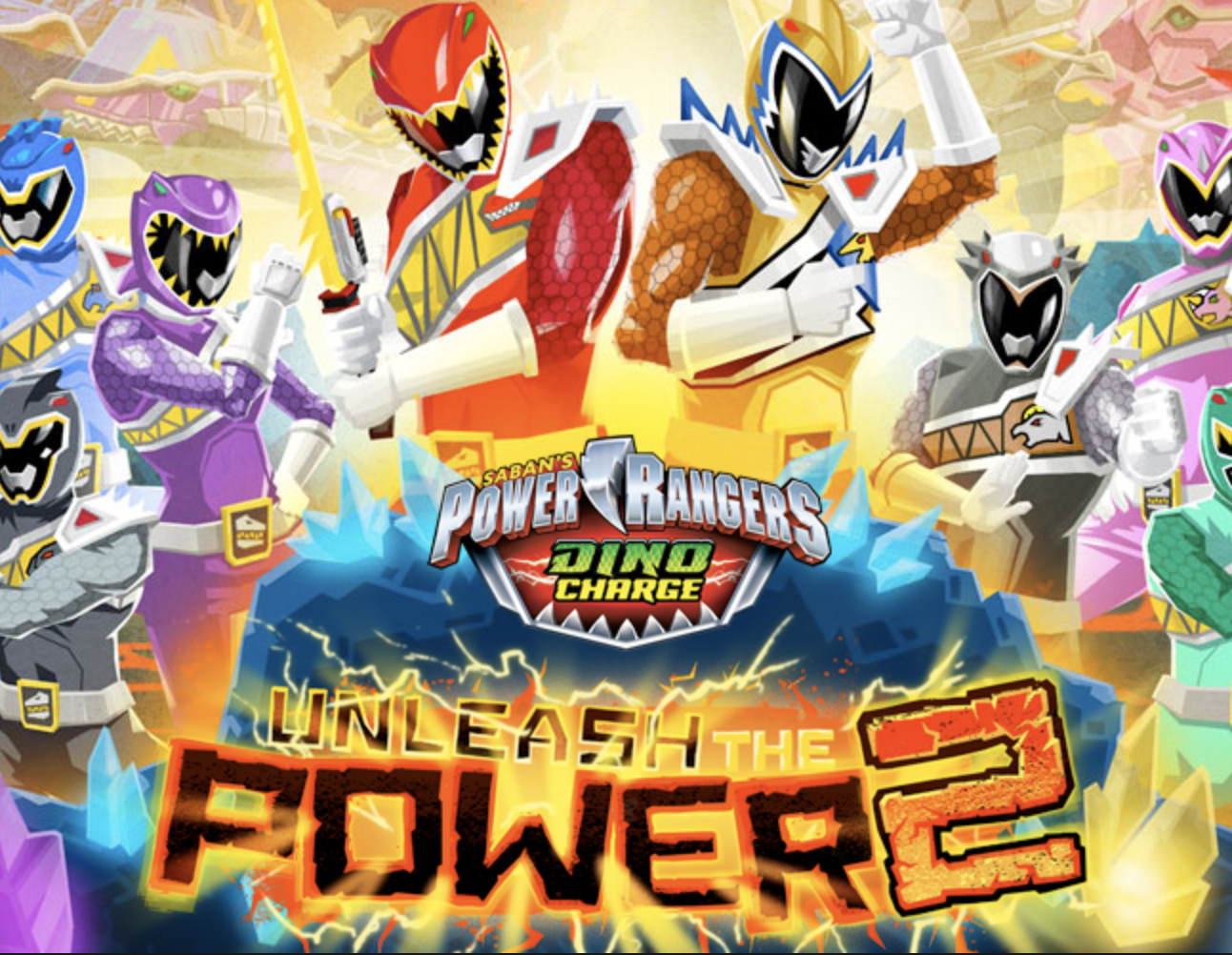 Play Power Rangers Unleash the Power 2 Game in