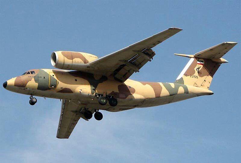 Antonov An 72 An74 Military Aircraft Aircraft Iran Air