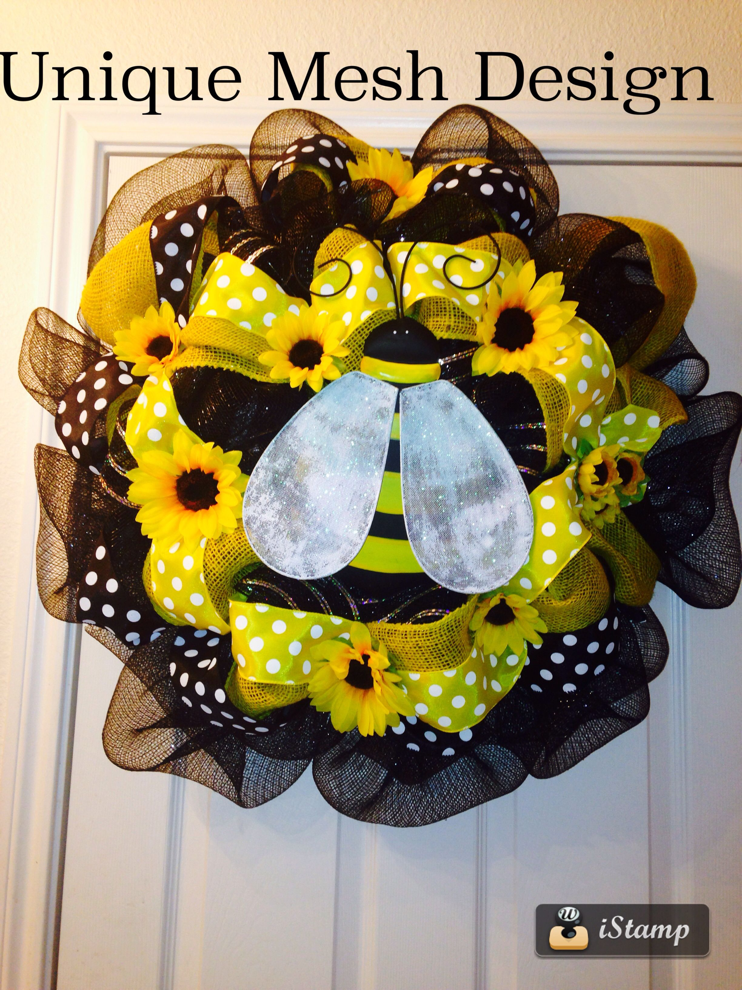 My latest creation bumble bee design great for spring u summer