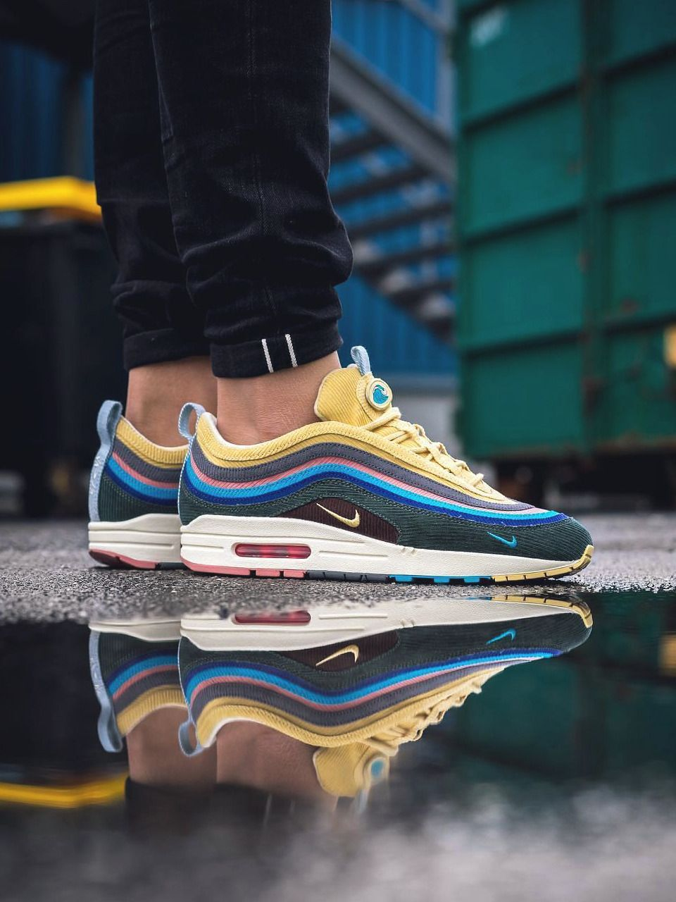 Sean Wotherspoon x Nike Air Max 1/97 2018 (by inmidoutsole)