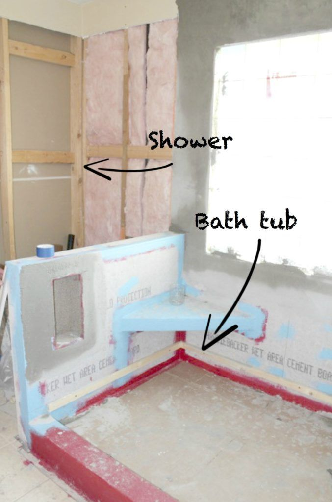 Master Bathroom Remodel Without Tub