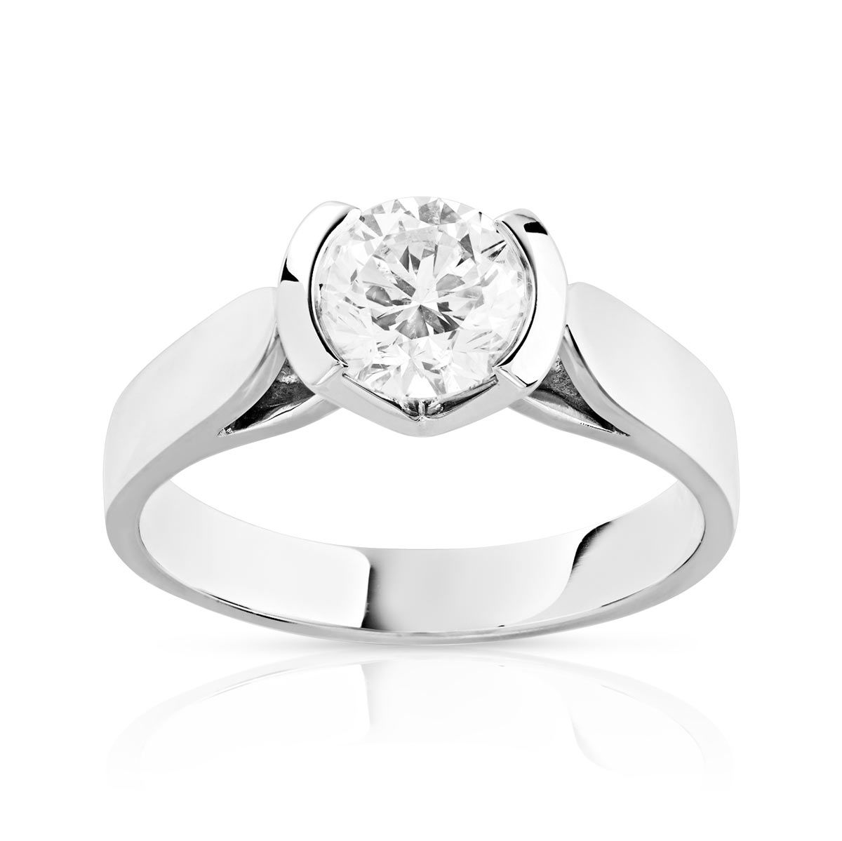 bague solitaire diamand
