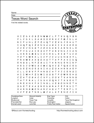 Learn About Texas with These Free Printables! | Texas history
