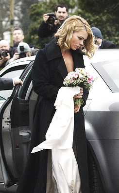 Billie Piper's Wedding; 31st December 2007 Billie piper