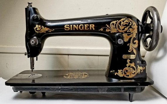 Completely Restored 1913 Singer Quot Simanco Quot Industrial Sewing Machine Industrial Bla Singer Sewing Machine Vintage Sewing Machine Industrial Sewing
