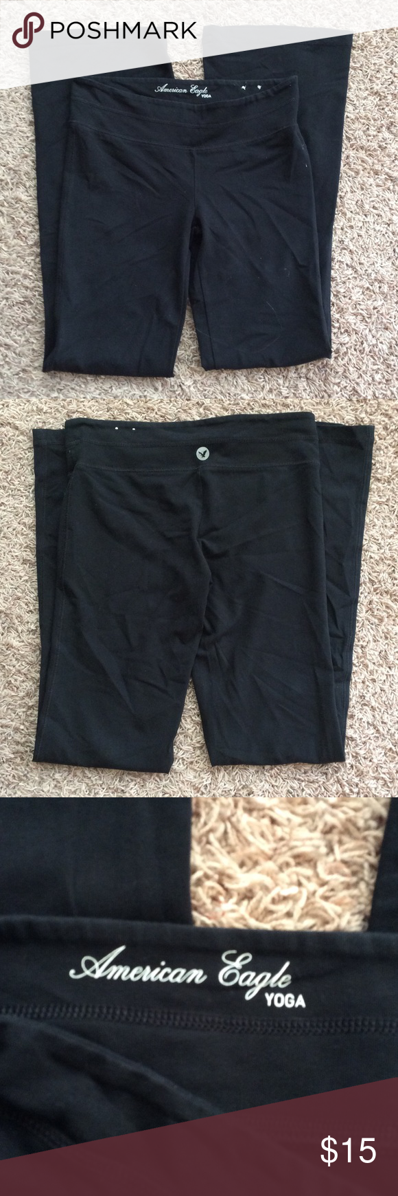 American Eagle Yoga Pants American Eagle Yoga Pants - Excellent condition, only worn a few times. American Eagle Outfitters Pants Leggings