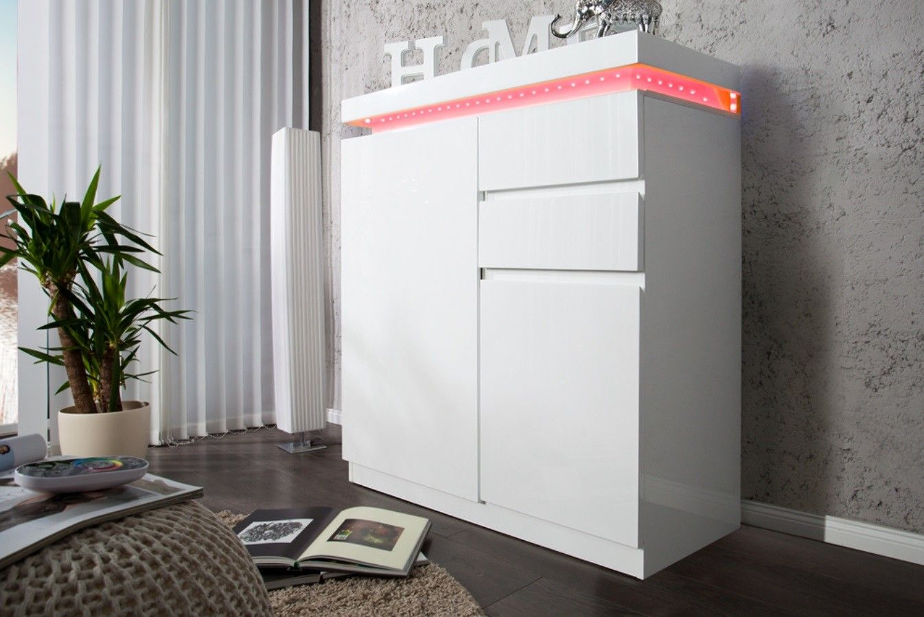 Inspirant Meuble A Chaussures Laque Blanc Locker Storage Home Home Decor