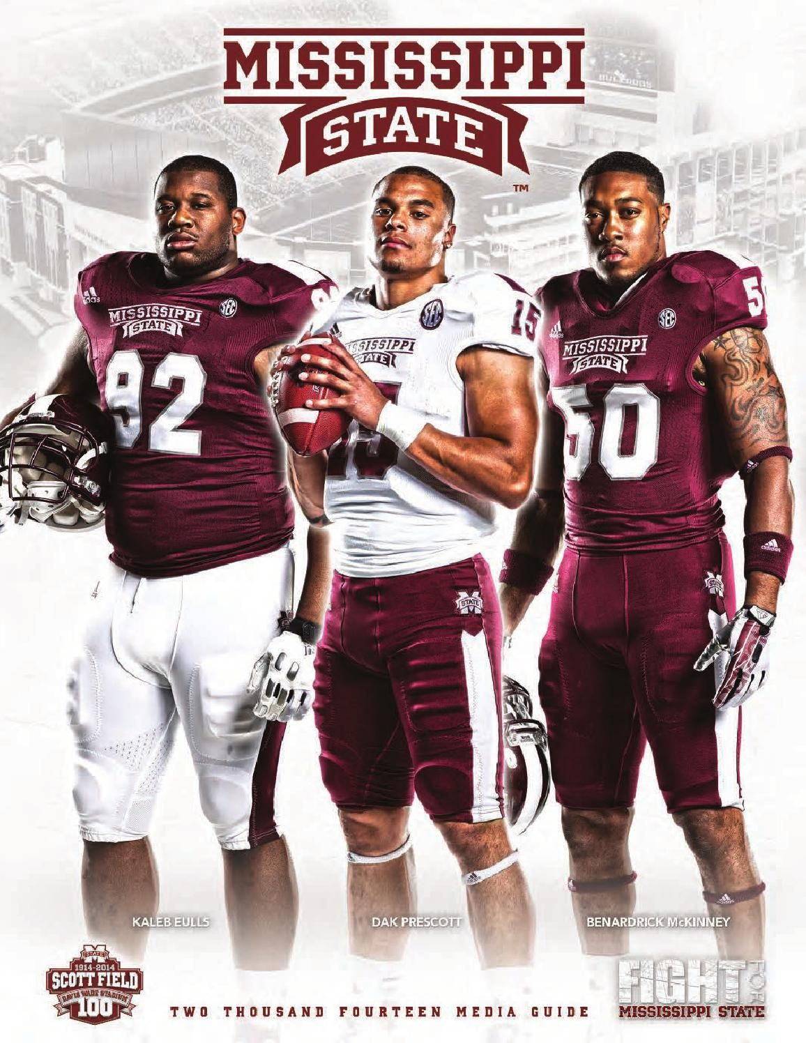 2014 Mississippi State Football Media Guide Mississippi