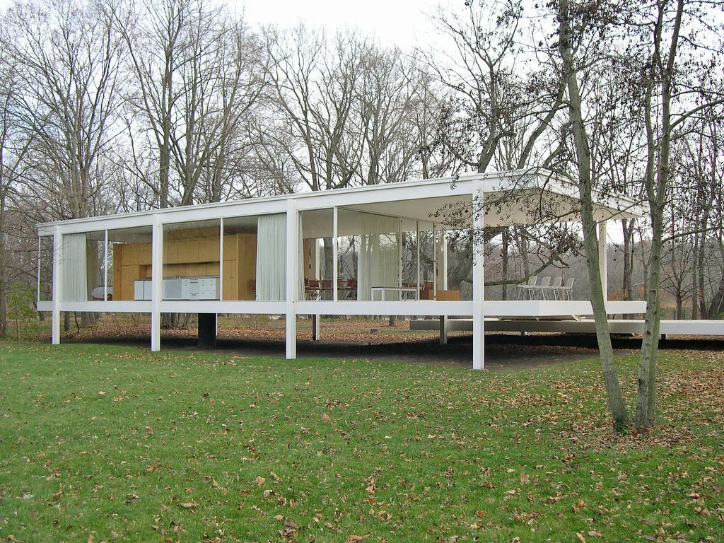 mies van der rohe 39 s farnsworth house in plano illinois an. Black Bedroom Furniture Sets. Home Design Ideas