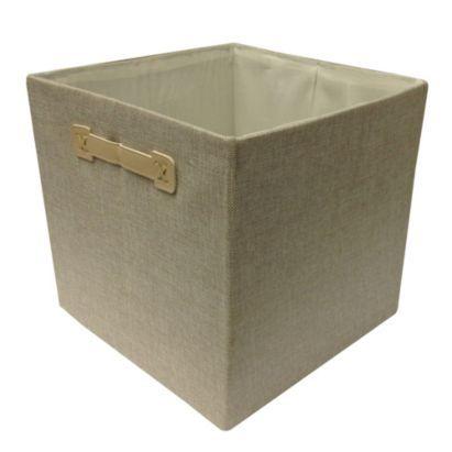 Bu0026Q Mixxit Cube Linen Storage Box   £10 Each