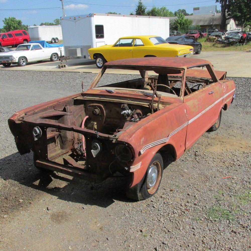 1963 chevrolet chevy ii nova 2 door hardtop body rat rod