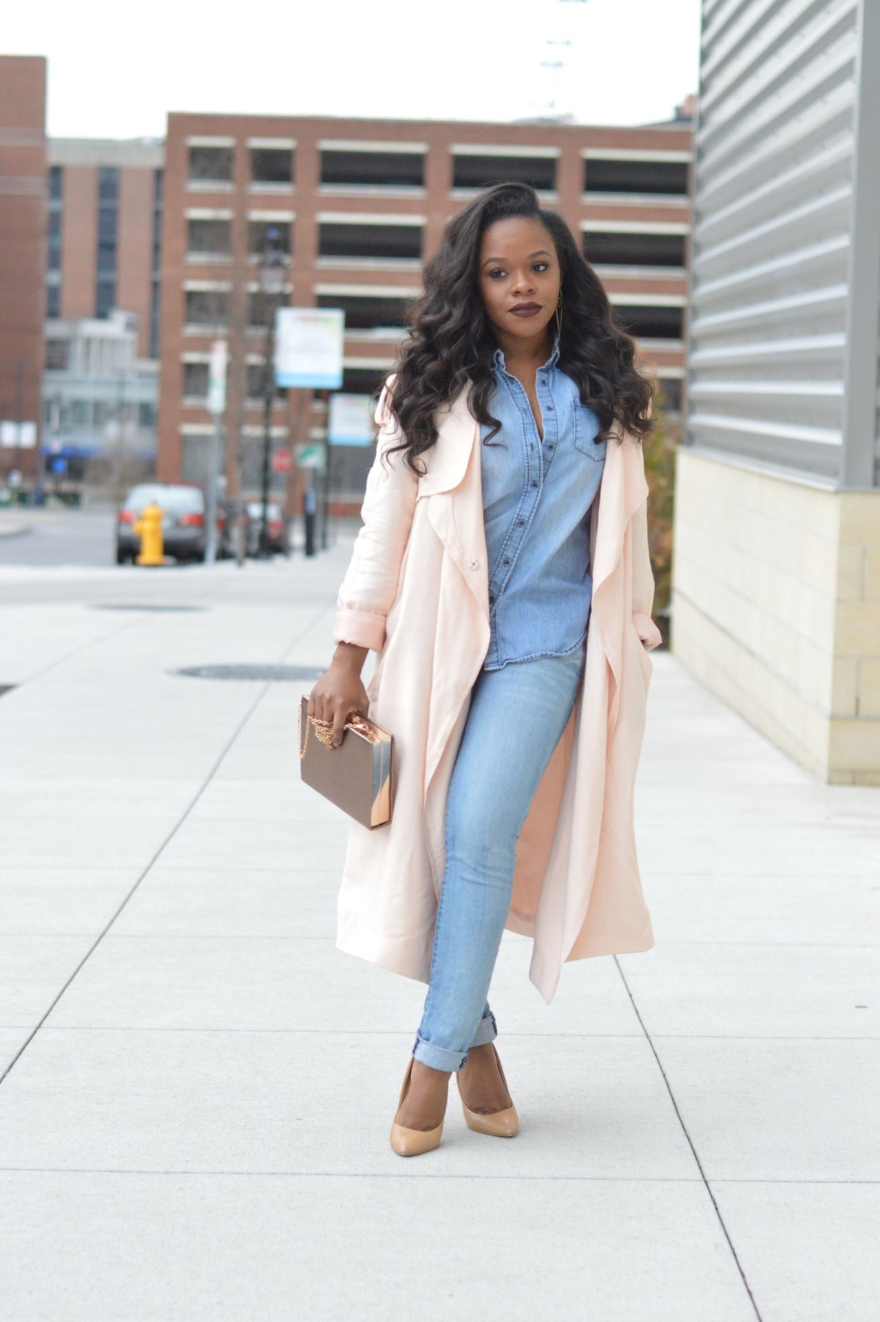 All About Fashion Fall Winter Looks From Black Girls
