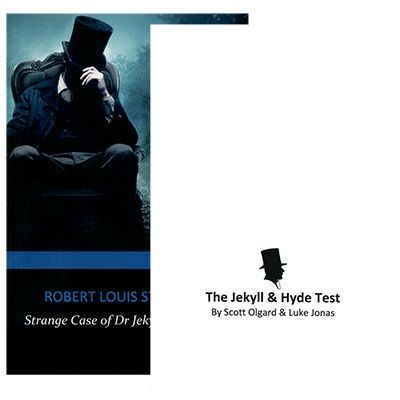 Jekyll and Hyde Book Test by Scott Olgard and Luke Jonas with Olnas Magic